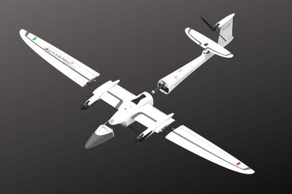 Dron Quantum-Systems Trinity F90+