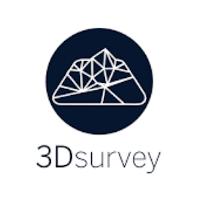 Drony oprogramowanie. Logo 3dsurvey