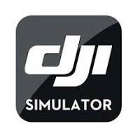 Drony oprogramowanie. Logo DJI Flight Simulator