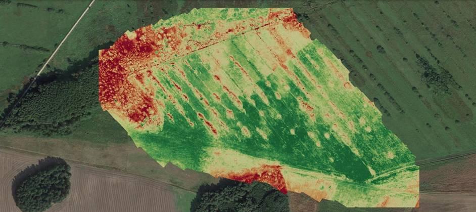 obrazowanie multispektralne w rolnictwie